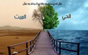 باب فضل ذكر الله عز وجل.